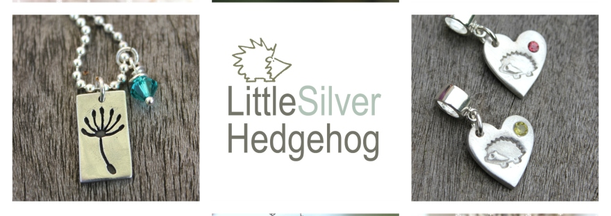 Nature jewellery by Little Silver Hedgehog gifts that give back