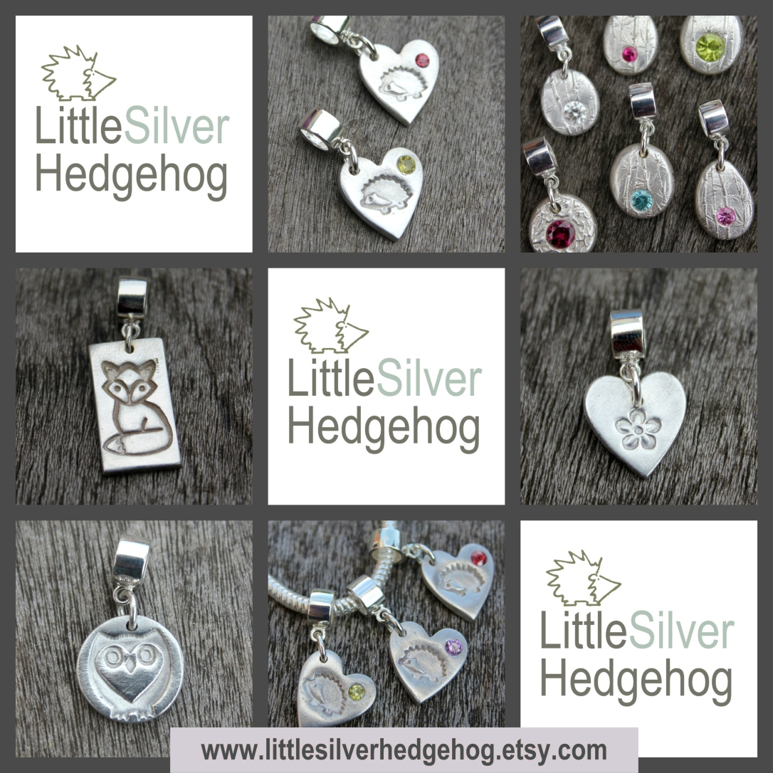 Pandora wildlife charms by Little Silver Hedgehog.jpg