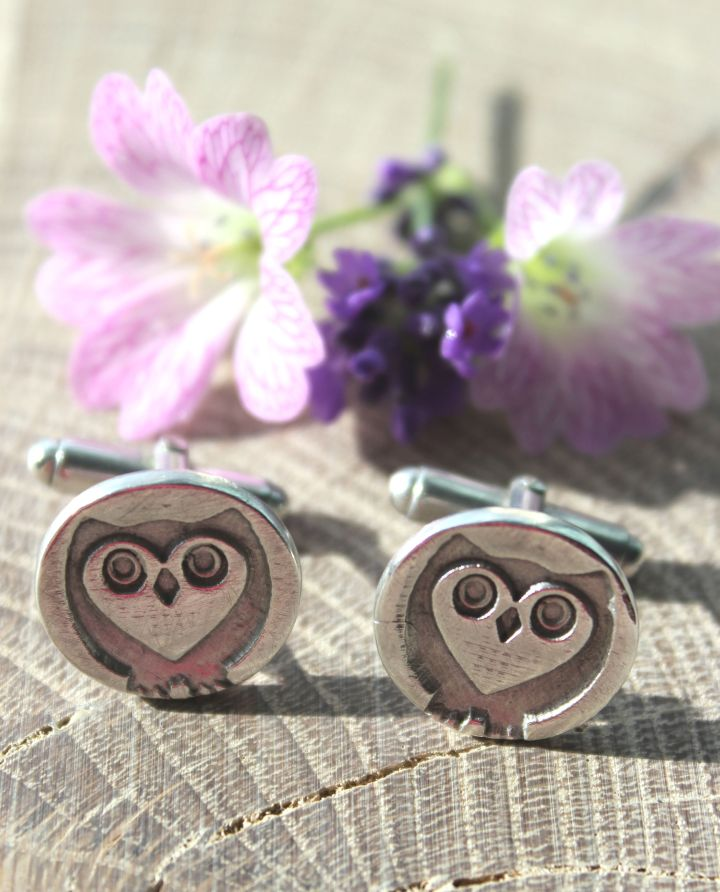 owl-cufflinks-t-bar-by-little-silver-hedgehog