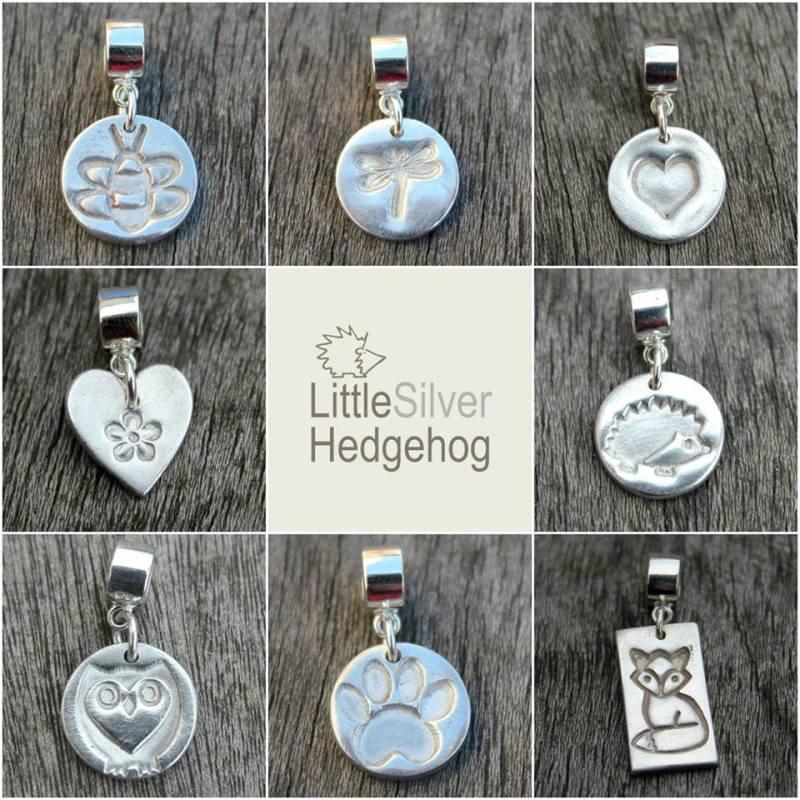 Handmade silver Pandora wildlife charms
