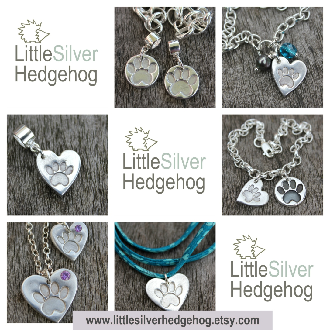 Paw print Jewellery by Little Silver Hedgehog.jpg