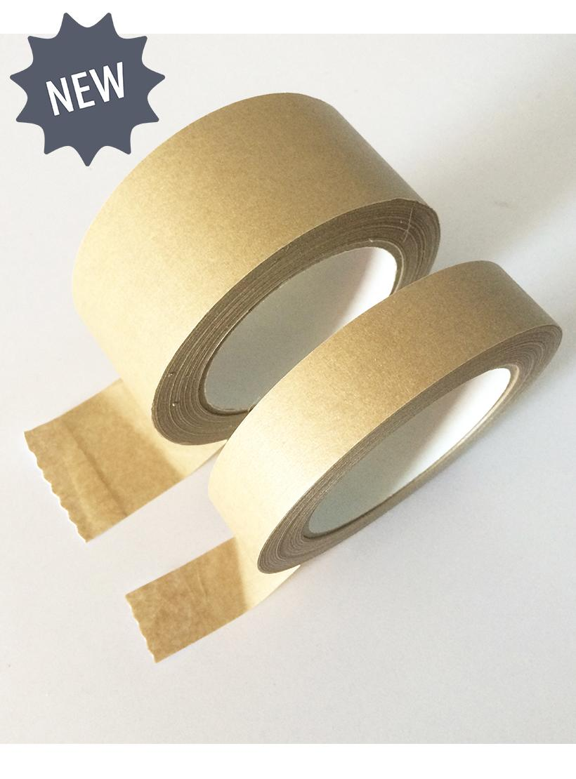 Plastic free sellotape parcel tape