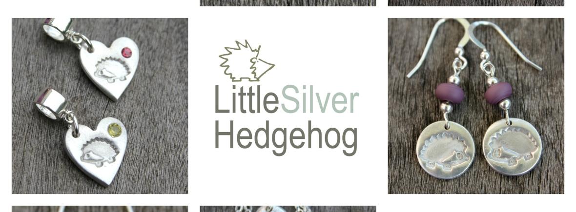 Hedgehog Jewellery by Little Silver Hedgehog