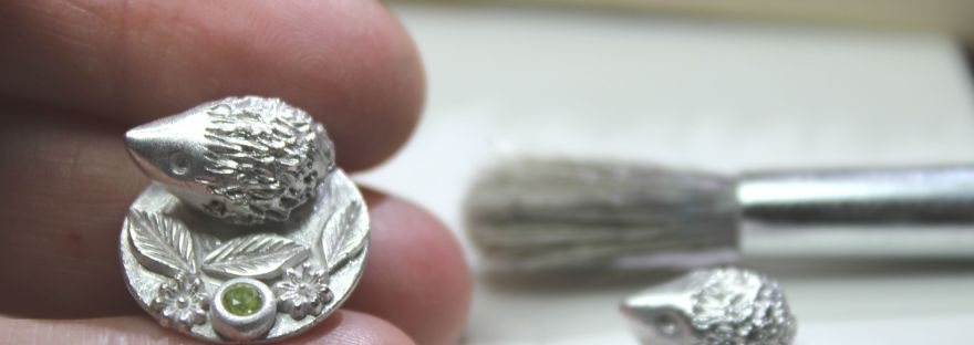 Silver miniature hedgehogs
