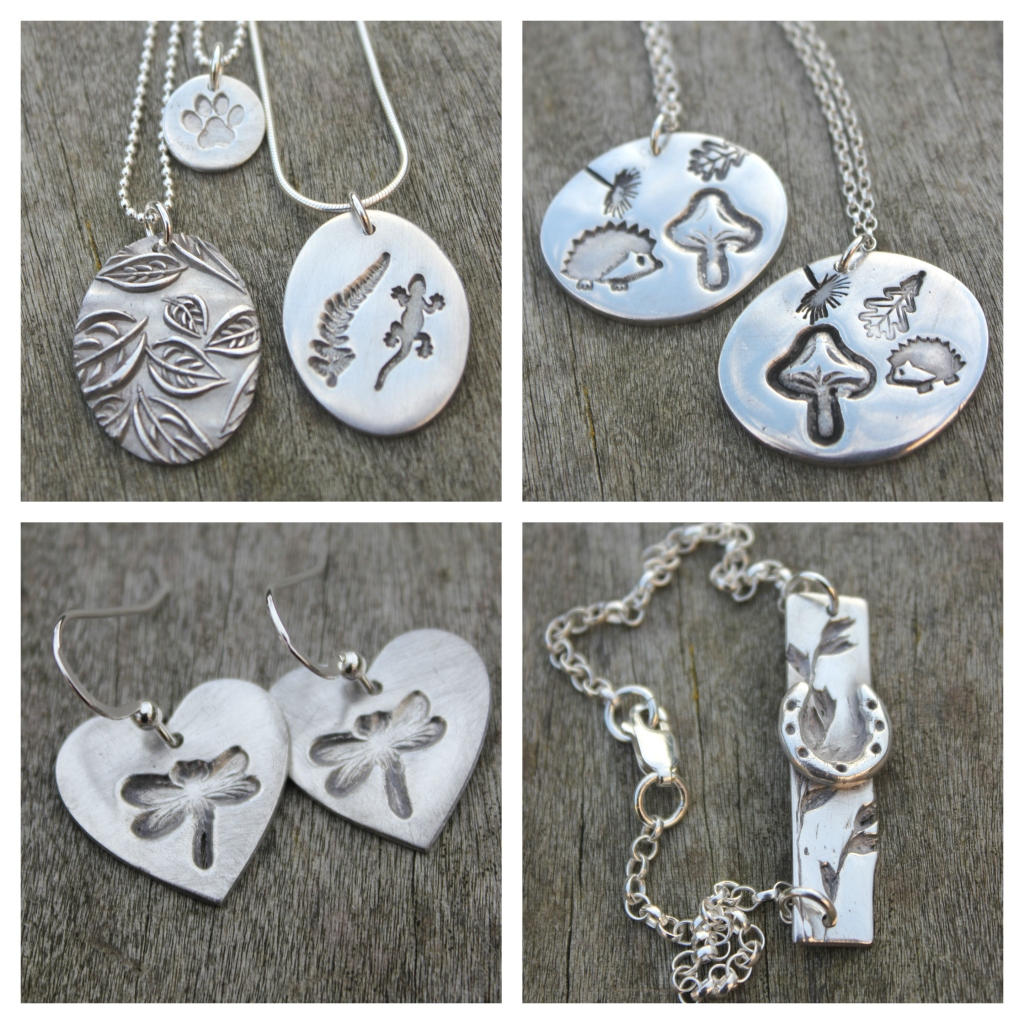 Silver clay jewellery classes in York by little silver hedgehog